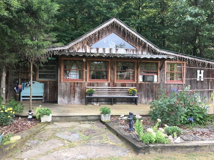 Creekdance, A Rustic Retreat