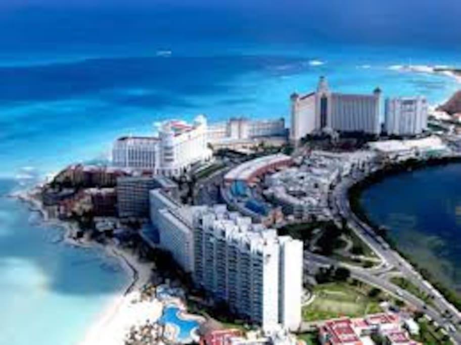 Cancun beaches near