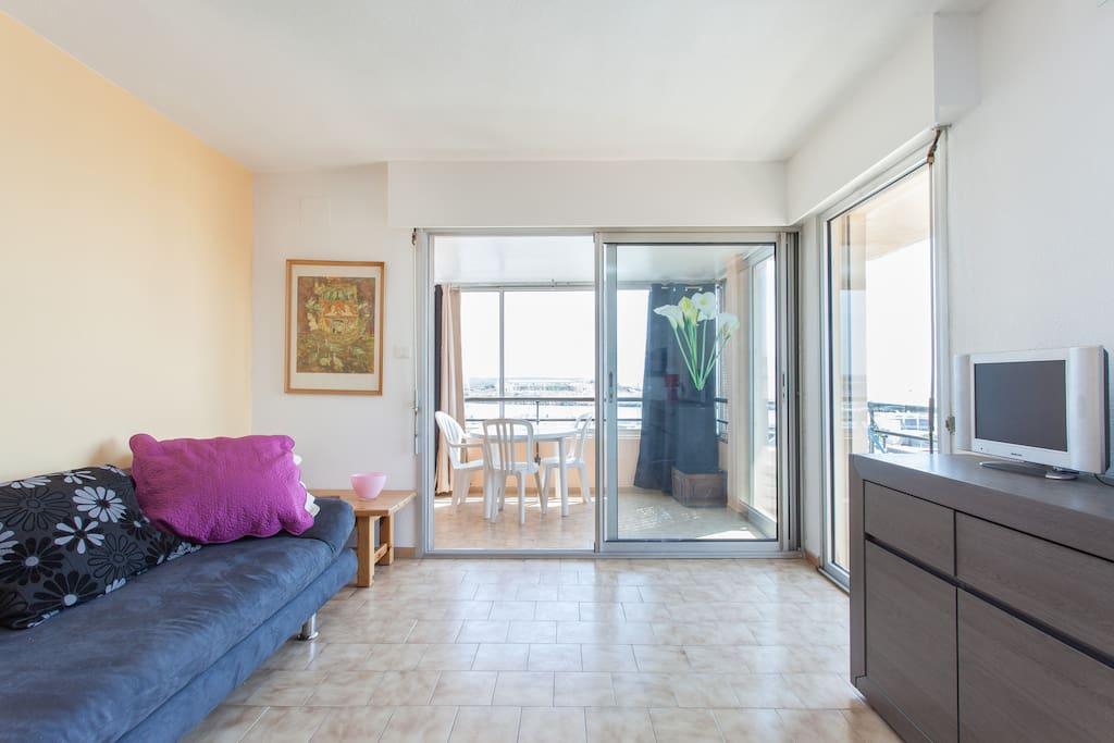Appartement  avec vue magnifique !
