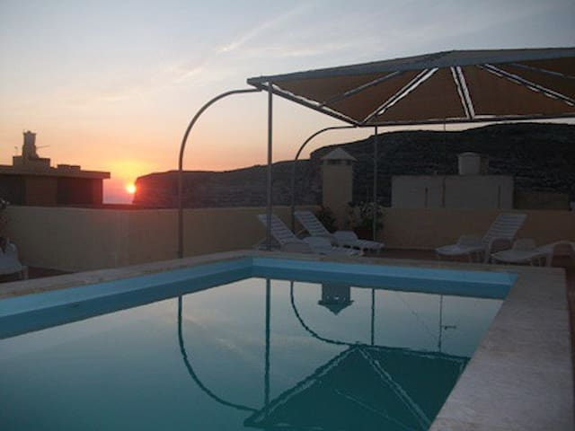 Sunset at Villa Bronja