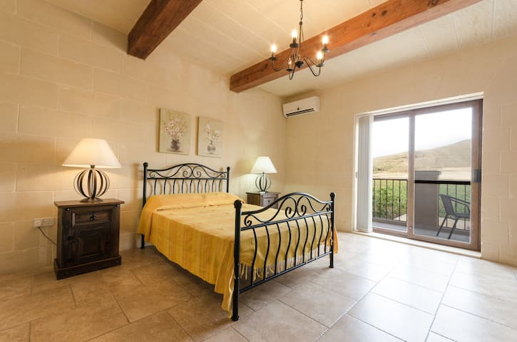 Recently built rustic farmhouse situated in the quiet village of Gharb.