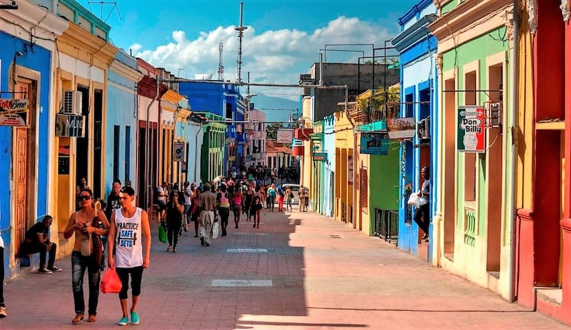 LA CASA VERDE - Santiago de Cuba - Haus