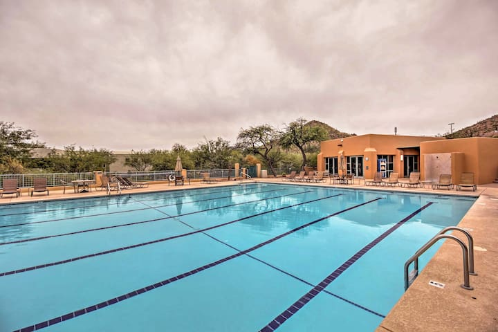 Charming Tucson Resort Studio w/Lavish Amenities!