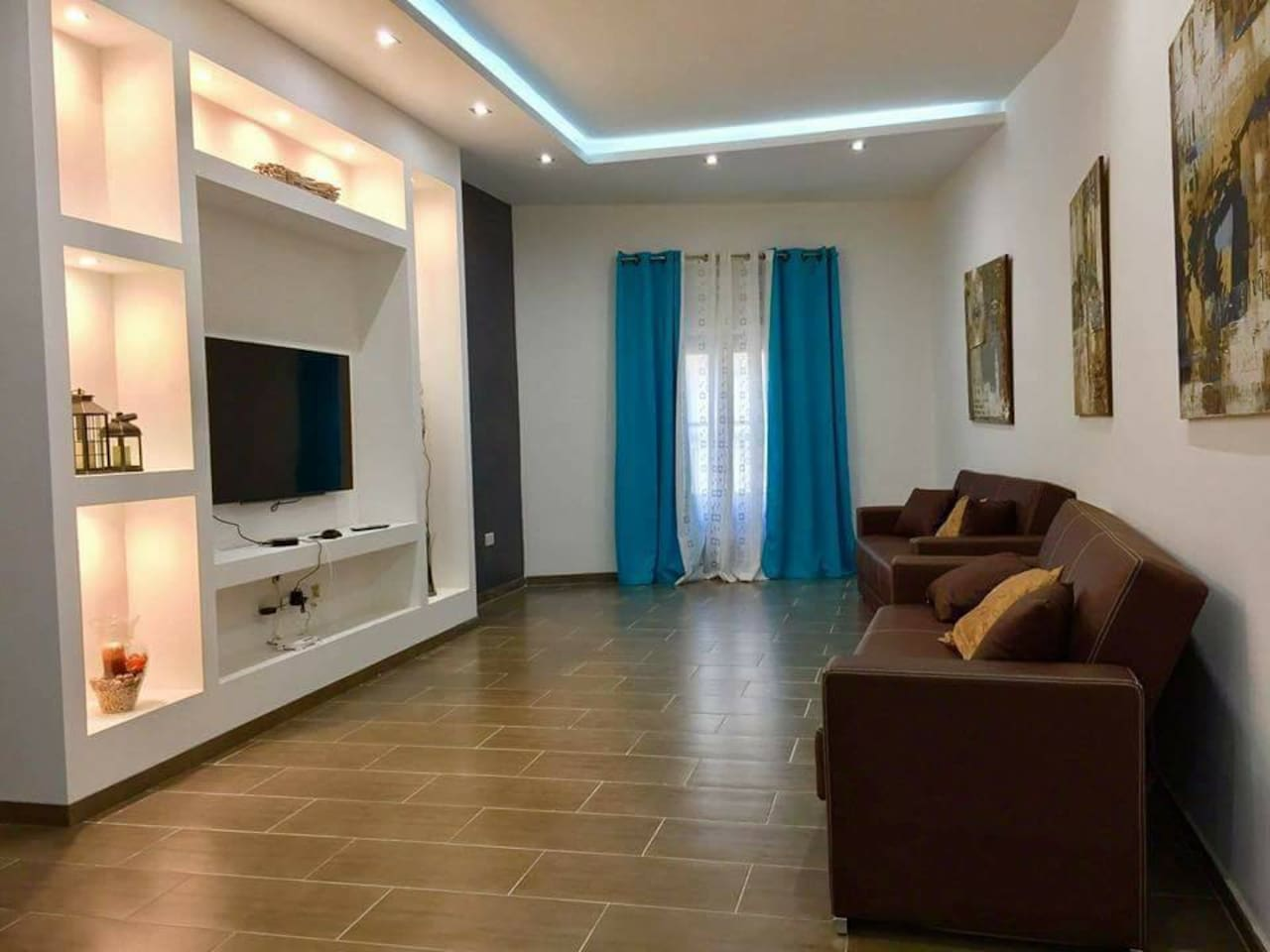 Living Area with a/c