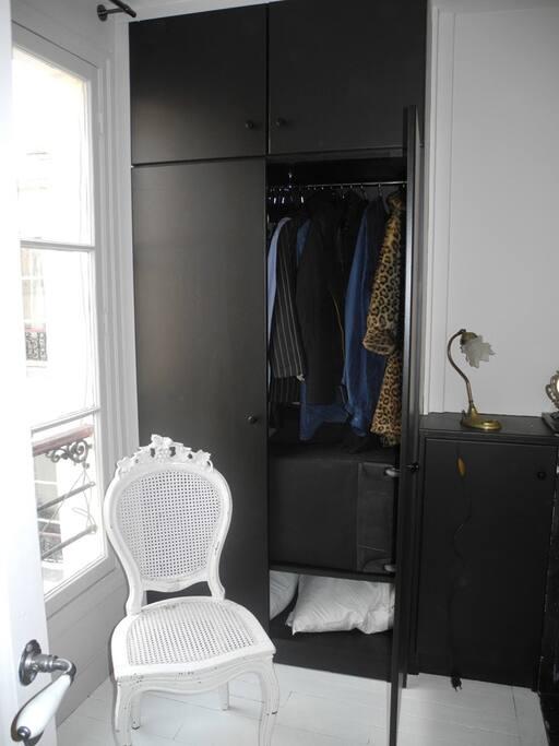 big large closet
