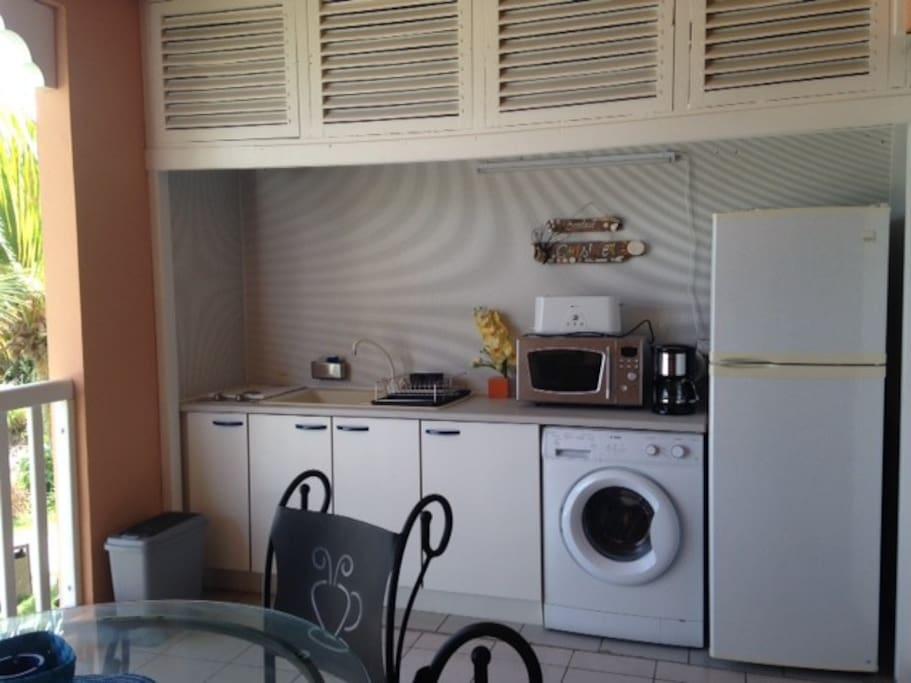 Appart vue lagon 2 chambres 6 pers appartements louer - Aide cuisine collectivite ...