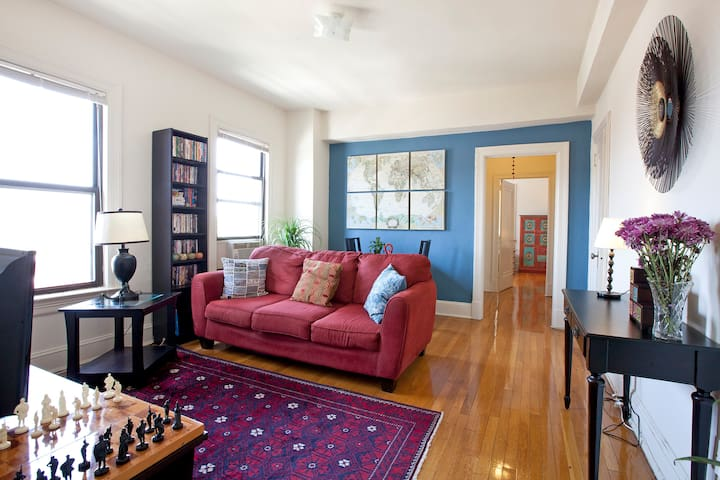 Sundrenched 1BR Dupont Circle