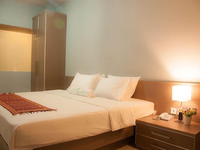 Full facilities room LeGreen Penjernihan - Tanah Abang - Bed & Breakfast