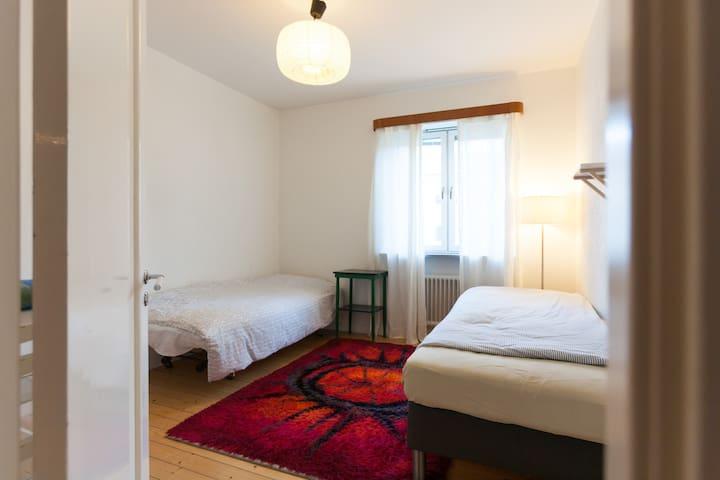 Bedroom close 2 Möllevången/Söderv. - Malmö - Wohnung