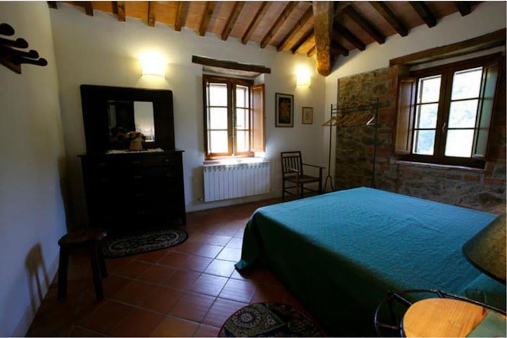 Appartamento Baccano - una delle due camere da letto