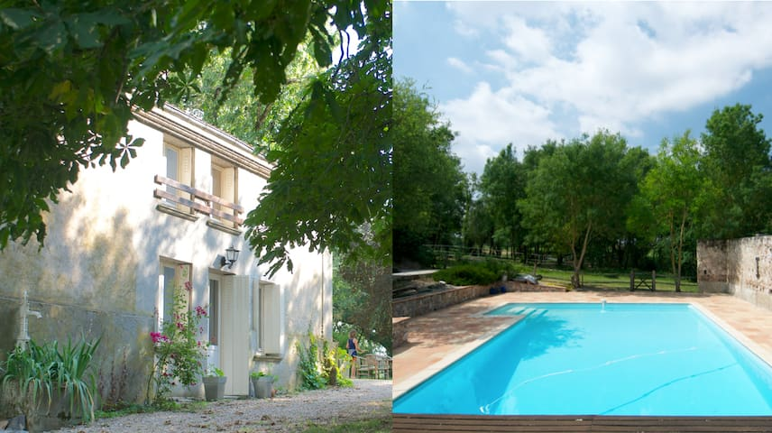 CHARMING FLAT W\ POOL FOR 5 - Blan - Leilighet