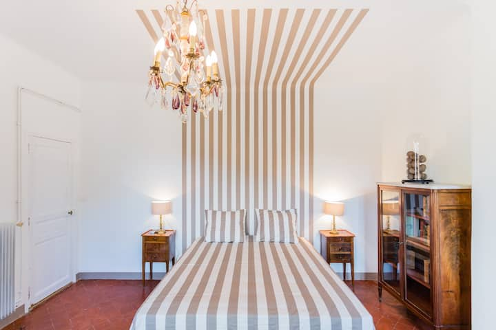 nice flat air/co wifi 2 bedrooms in the historic