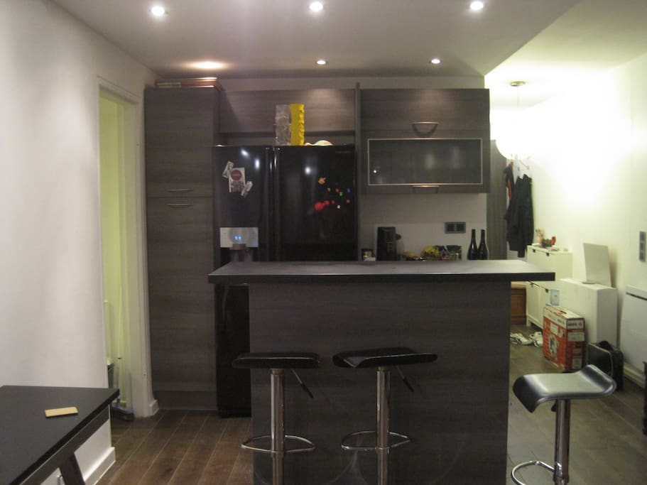 Bar dans le salon