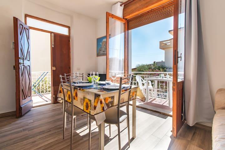 Casa Riccio con AC, Wi-Fi e a pochi passi dal mare