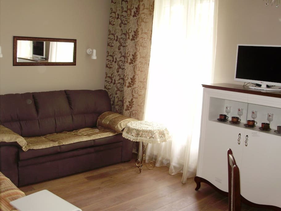 Комфортный диван-кровать