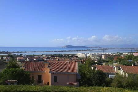 Cagliari Poetto Beach Seaview apt. - Куарту-Сант'Элене - Квартира