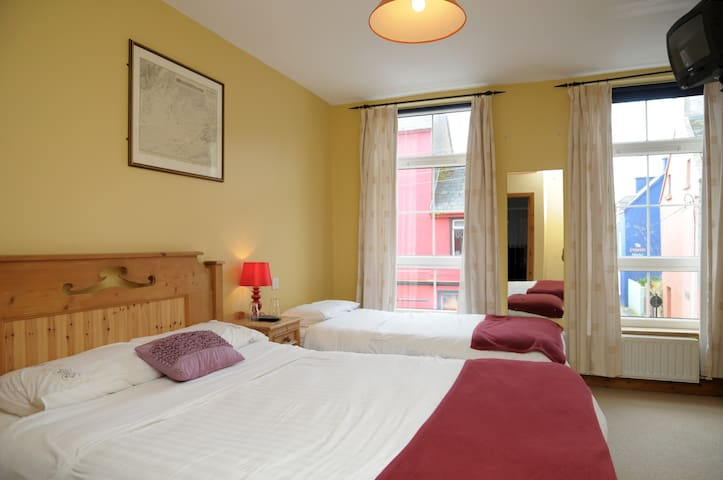 Private db/twin room main st.Dingle (no breakfast)