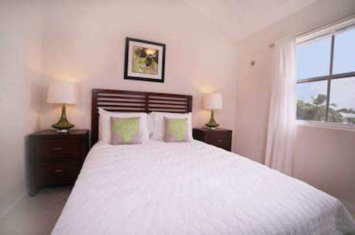 Bedroom 3 is also air-conditioned and has a queen size double bed