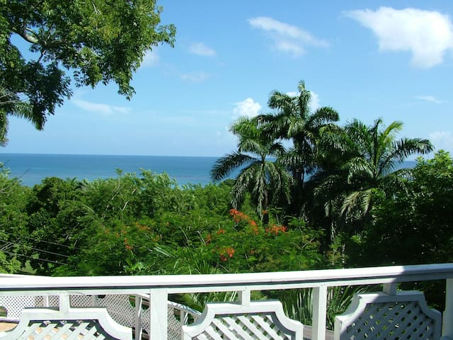 * Sea view villa with private pool - north coast * - Montego Bay - Huis