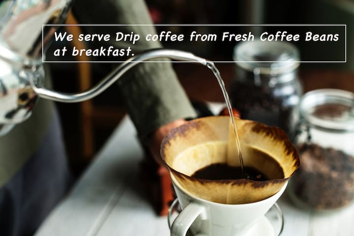 Mix Dormitory with Fresh Coffee