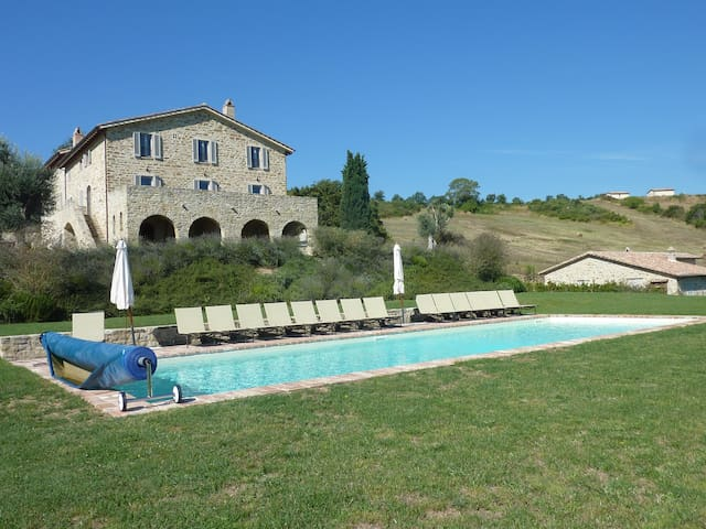 Cipresso authentic Italian home with pool/tennis