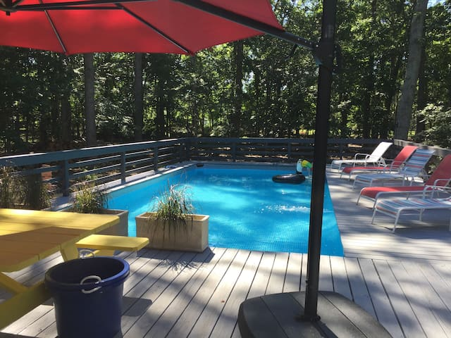 Remodeled Summer Escape w/ Pool & Access to Beach