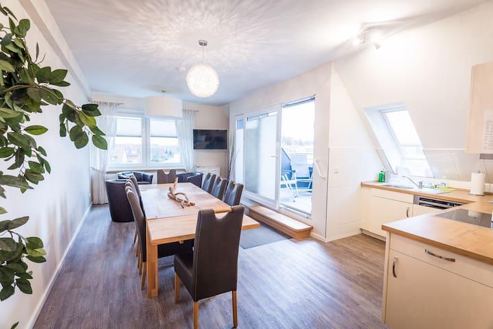 Hochwertige 250qm Loggia Wohnung - Seevetal - Lägenhet