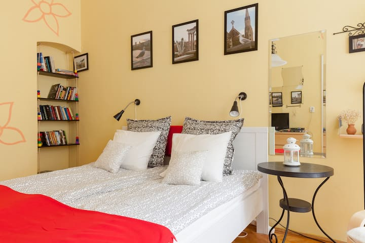 Tinny sweet flat in the heart of budapest