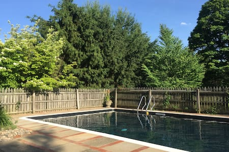 1828 Home with in-ground pool on 1.3 acres. - House