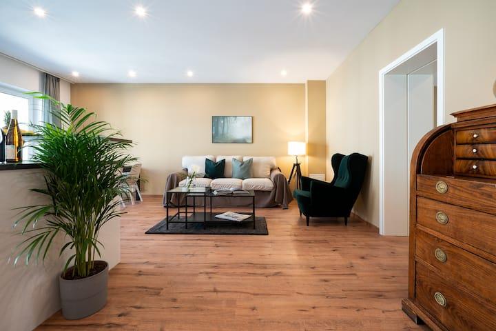 Zentrales 80-qm-City-Apartment (Nr. 4) für 4 Pers.