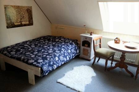 Knusse sfeervolle kamer aan Het Drents Friese Wold - Wapse