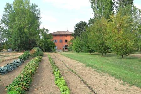 Appartamento con vista giardino in tenuta agricola - Piumazzo - 独立屋