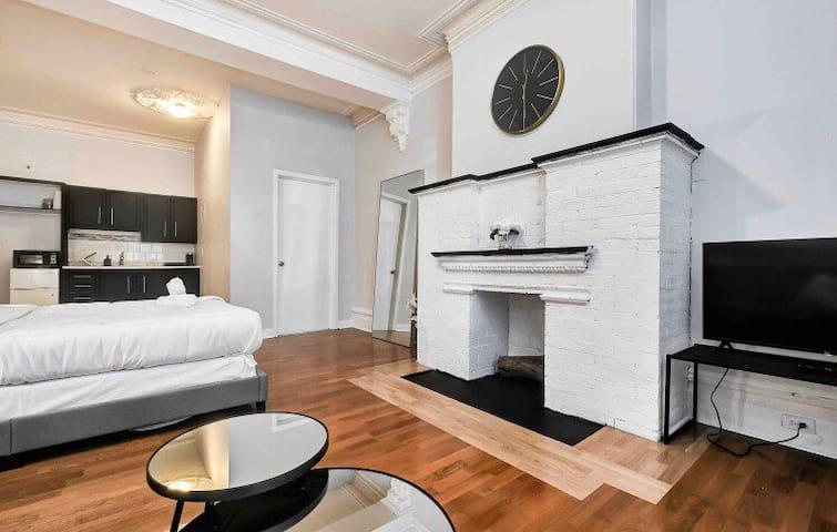 Manhattan Inspired Studio- Steps to Parliament