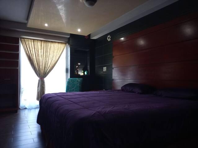 Hotel Sinai, en el centro de uruapan.