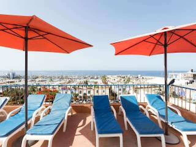 Lovely, clean apt (no. 4)  with beautiful views - Puerto de Mogan - Apartment