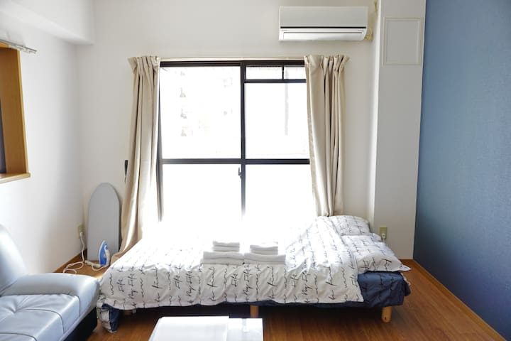 G41☆Near Nagoya st☆3min walk from metro☆Wi-Fi Free