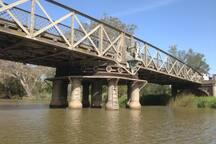 The historical Swing Bridge
