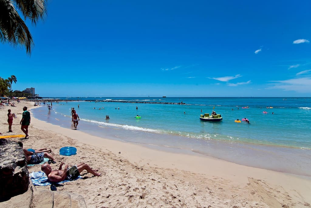 The Royal Kuhio Is A Short Stroll To Waikiki's Best Beaches