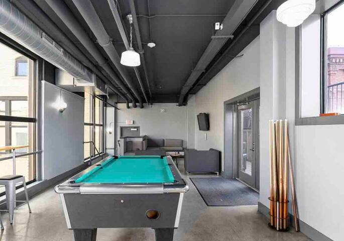 Plenty to do in the newly renovated game room