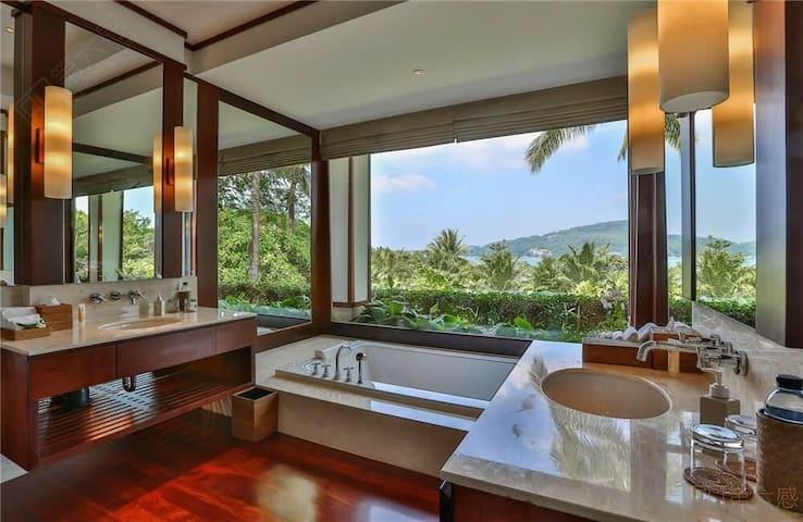 安达拉印主题别墅酒店——五卧室泳池别墅