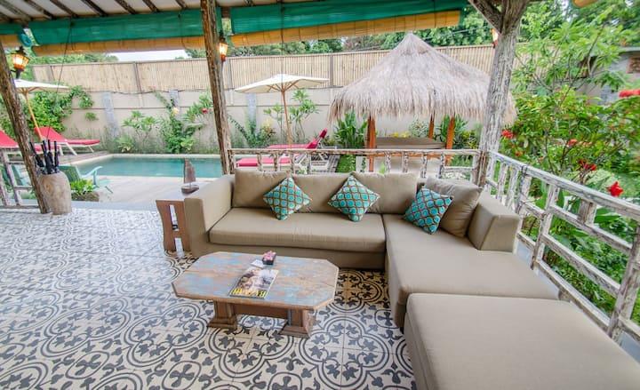 3 Bedroom Joglo Villa with Private Pool