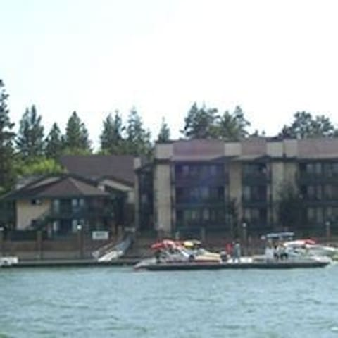 July 4th Lakefront 2 BR condo - Big Bear Lake - Leilighet