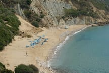 Koroni beach(2km away).A turtle nesting beach.