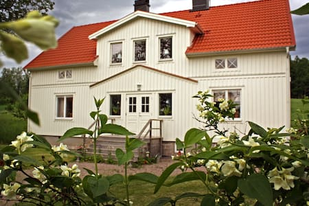 Stort hus i natursköna omgivningar  - Vetlanda SV