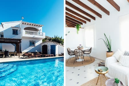 Villa with private pool Javea area (10min beach)