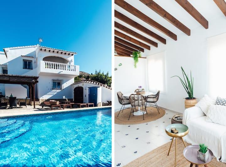 Villa with private pool Javea area (10min beach)