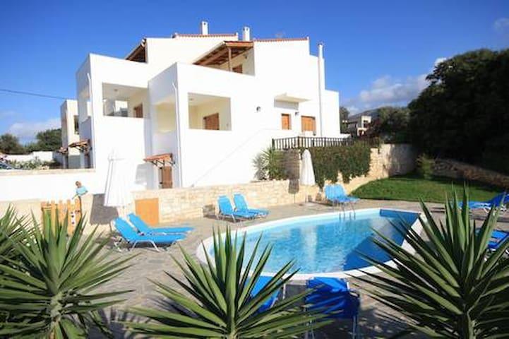 Exclusive Villa 1 mit Pool 7 Pers. - Rethymno - House
