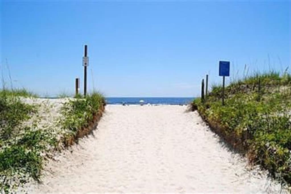beach access Periwinkle