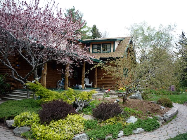 Sunny Room Overlooking Gardens - Trenton - Huis