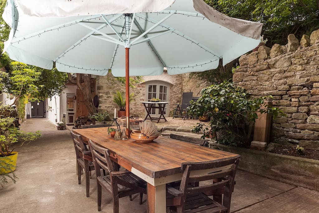 Quirky Garden Apartment In Medieval Square Apartments For Rent In Axbridge Near Cheddar